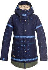 DC Apparel Women's Riji Snow Jacket, Dark Blue 19- Large RRP $349
