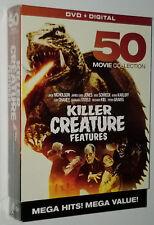 Killer Creature Features 50 FILM HORREUR DVD Coffret Karloff, Christopher Lee
