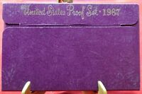 1987-S Proof Set United States US Mint - Free Shipping
