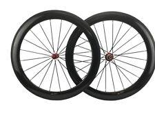 Straight Pull Carbon Wheel 60mm Clincher 700C Road Bike Wheel Set R36 23mm Width