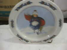 Sarah Stilwell Weber Calendar Collection November Collectible Plate 1985 LE #907