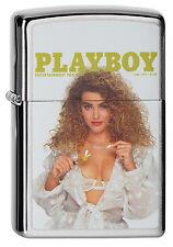 ZIPPO ACCENDINO Playboy Cover June 1992 Playmate OVP Nuovo oggetto da collezione!!!