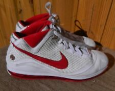 Nike Lebron LJ23 Air Max White Red Woven Basketball Shoes Mens Size 15