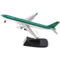 14CM AerLingus A330-300 Airbus Alloy Diecast Aircraft Plane Model Toy Gift