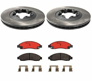 Brembo Front Brake Kit Ceramic Pads Disc Rotors For Chevy Colorado Canyon Isuzu