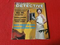 Vintage Official Detective Stories Magazine January 1966                      SS
