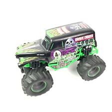 """FOR PARTS MONSTER JAM RC GRAVE DIGGER NEW BRIGHT BIG 1:18 SCALE CRAWLER BODY 12"""""""