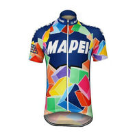Retro 1993 Team Mapei Vintage Cycling Jersey