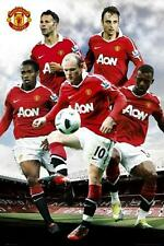 Manchester United Players 2010 - 2011 - Maxi Poster 61cm x 91.5cm (new & sealed)