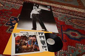 DAVID BOWIE LP NEVER LET ME DOWN ORIG 1987 EX DIRECT METAL MASTERING + POSTER