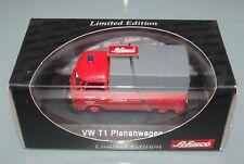 Schuco 1/43 VOLKSWAGEN VW PLANENWAGEN T1 splitscreen pickup Feuerwehr FIRE TRUCK