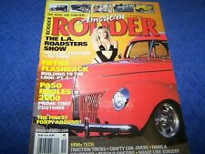 American Rodder  Magazine, Hot Rod,Rat Rod.Back Issue Dec. 2000