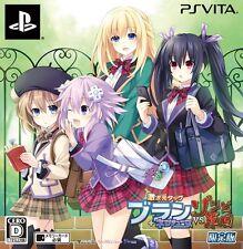 Geki Jigen Tag Blanc Neptune VS Zombie Gundan Limited PlayStation Vita Japan