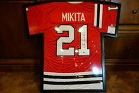 Stan Mikita Autograph Jersey Chicago Blackhawks NHL Legend HOF Top 100 All Time