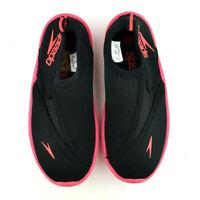 NEW Speedo Kids Surfwalker Pro 2.0 Water Shoes Toddler Kid Size 12 Black/Pink