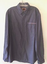 Boston Traders Long Sleeve Shirt Button Front Men's Extra Large