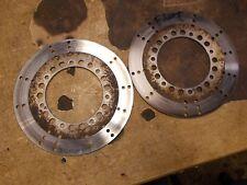 1982 Kawasaki KZ1100 KZ 1100 Dual Front Brake Rotors Discs