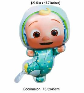 Cocomelon Balloon Baby Birthday Party Decoration Balloons JJ Baby Shower