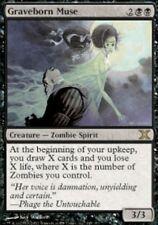 MTG: Graveborn Muse- Black Rare - 10th Edition - 10E - Magic Card