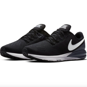 Nike Air Zoom Structure 22 Wide Women's Running Training Shoes Black AA1641 010