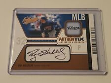 2004 Fleer Authentix Roy Halladay Certified Auto Card #11/25 Blue Jays HOF