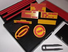 7 pc STAMP kit. set your own text fast SERVICE from uk. multiple use BOOK today