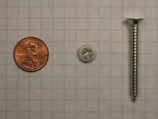 "SHEET METAL SCREWS TYPE AB #10 x 1-3/4"" STEEL, FLAT HEAD, PHILLIPS DRIVE, NICKEL"