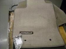 2003 - 2008 Toyota Corolla Carpet Floor Mats, Brown,  PT206-02040-16
