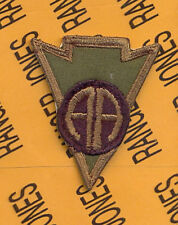 US Army 82nd Airborne RECONDO school Graduate OD pocket patch