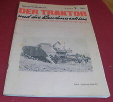 dachbodenfund zeitschrift schweiz. traktor verband landmasch.  heft 9 / 1968 alt