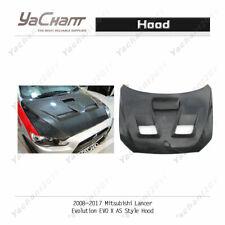 Fiber Glass Bonnet For 2008-2017 Mitsubishi Lancer EVO X EVO 10 AS-Style Hood