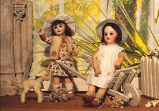 CARTE POSTALE Anciennes poupées BLEUETTE  - Dolls