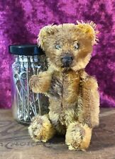 RARE ANTIQUE SCHUCO PERFUME BOTTLE TEDDY BEAR GENUINE COLLECTABLE BROWN MOHAIR