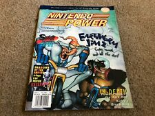 #83 Nintendo Power video game magazine Earthworm 2