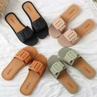 Summer Women Sandals Light & Comfortable Non-slip Beach Sandals Slippers E7X0