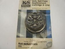 NEW K&S AUTO SELF FEED REPLACEMENT SPOOL AND LINE, P/N RC-522
