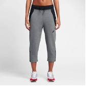 Nike Women's Sportswear Tech Fleece Cropped Pants NEW AUTHENTIC Grey 831711-091