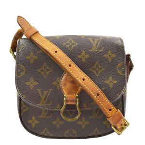LOUIS VUITTON MINI SAINT CLOUD SHOULDER BAG PURSE MONOGRAM M51244 8904VI 41573