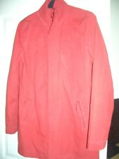 H&M DIVIDED LADIES WINTER SHELL RAIN JACKET/COAT RED SIZE 12 UK 38""