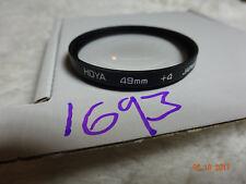 Hoya CLOSE UP +4 Filtro macro: 49 mm