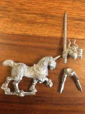 CAVALIERE DEL CAOS montato con LANCIA #1 80 S Regno del Caos WARHAMMER OOP in metallo