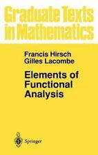 Graduate Texts in Mathematics Ser.: Elements of Functional Analysis 192 by...