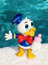 Walt Disney 1980 Comics Spain Pvc Baby Donald Duck Rare Cake Topper Toy Figure
