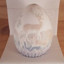Lladro Porcelain 1996 Limited Edition Deer Egg #17550 with Box