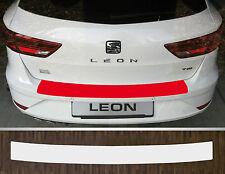 Ladekantenschutz Lackschutzfolie transparent Seat Leon ST Kombi, Facelift ab 17
