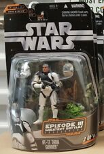 "Star Wars Saga Greatest Battles: Ep III (002) AT-TE Tank Gunner 3.75"" Figure"