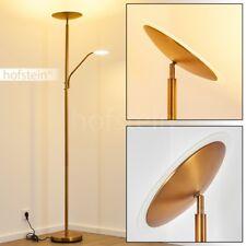 LED Deckenfluter Fluter Lesearm Büro Wohn Zimmer Steh Boden Lampen Bronzefarben