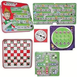 Mini Magnetic Travel Size Board Games 4 in 1 Gift Easter Game Kids Steady Eddie