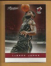 LeBron James 2012-13 Panini Prestige Card # 79 Cleveland Cavaliers Basketball