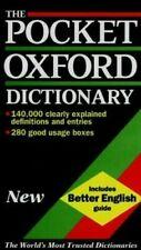 The Poche Oxford Dictionnaire De Courant Anglais Reliure Della de Thompson